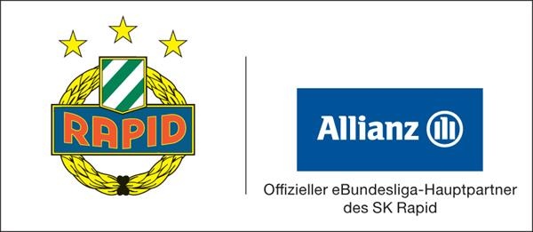 Composite Logo SK Rapid Wien / Allianz