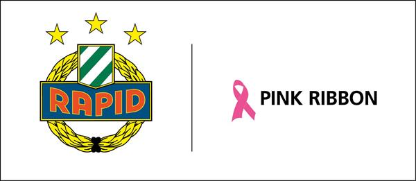 Composite Logo SK Rapid Wien / Pink Ribbon
