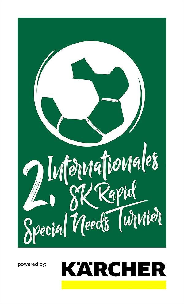 Logo 2. SK Rapid SNT-Turnier powered by Kärcher