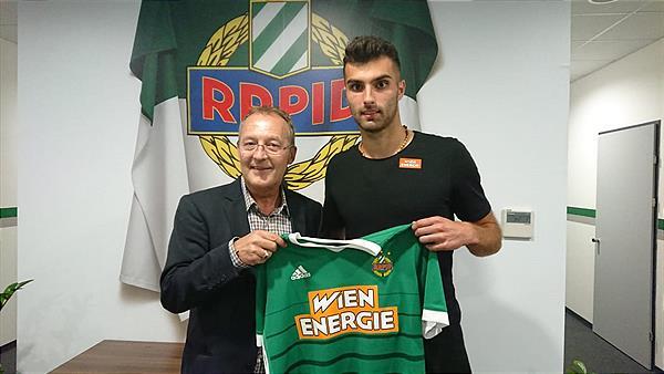 Manuel Martic, Rapid Wien, #inundaut,