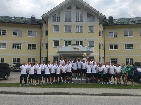 Abreise Sommertrainingslager 2018