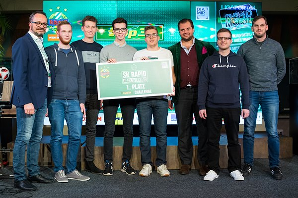 Sieger des SK Rapid Hack Weekends