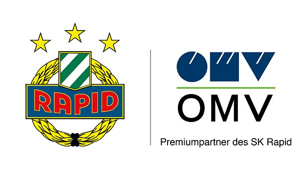 Corporate Logo OMV - SK Rapid
