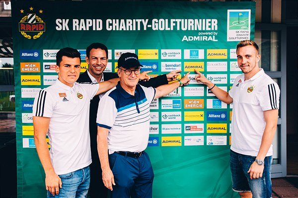 4. SK Rapid Charity Golfturnier powered by Admiral